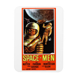 """Space-Men"" Magnet"