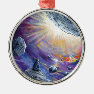 Space Metal Ornament