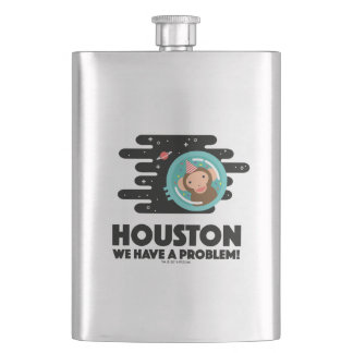 Space Monkey Hip Flask