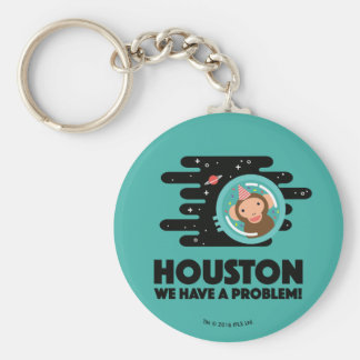 Space Monkey Keychain