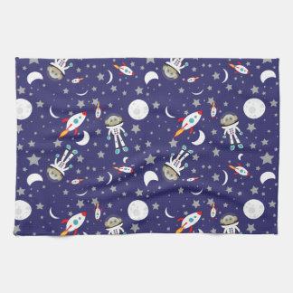 Space Monkey Kitchen Towel