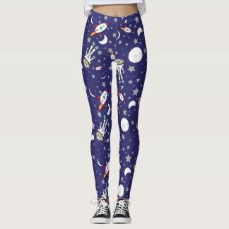 Space Monkey Leggings