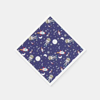 Space Monkey Party Napkins Disposable Napkin