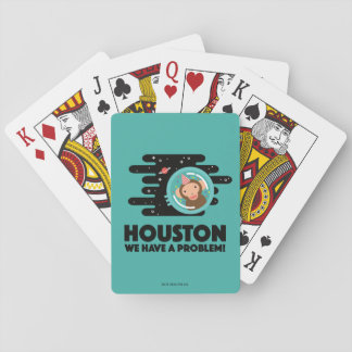 Space Monkey Playing Cards