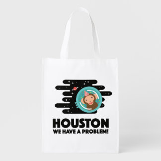 Space Monkey Reusable Grocery Bags