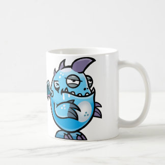 Space monster coffee mug