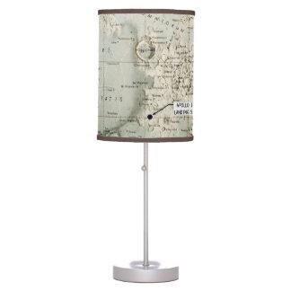 SPACE: MOON MAP, 1972 DESK LAMP