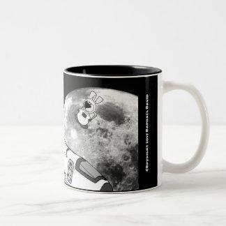 Space Mouse Mug! Two-Tone Coffee Mug