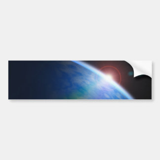 Space Muffin Bumper Sticker