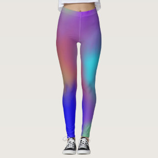 Space Multi-colour design leggings