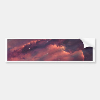 Space nebula bumper sticker