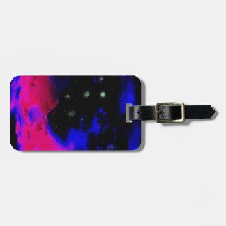 Space Nebula Luggage Tag