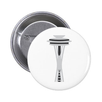 Space Needle 2 Inch Round Button