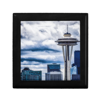 space needle seattle washington gift box