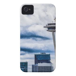 space needle seattle washington iPhone 4 Case-Mate case
