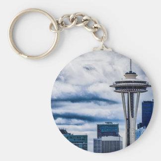 space needle seattle washington keychain