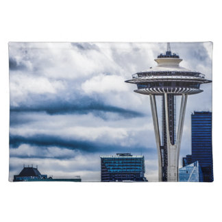space needle seattle washington placemat