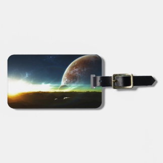 Space on the Horizon Luggage Tag