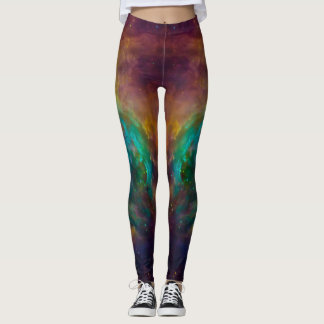 Space out workout in Chaos In Orion Leggings