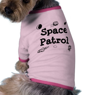Space Patrol Doggie T-shirt