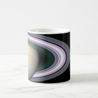 Space Photo Saturn's Rings Mug