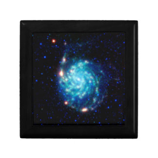Space Pinwheel Galaxy Box Keepsake Boxes