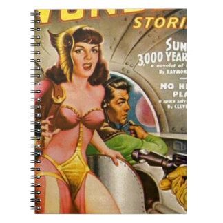 Space Pirates Spiral Notebook