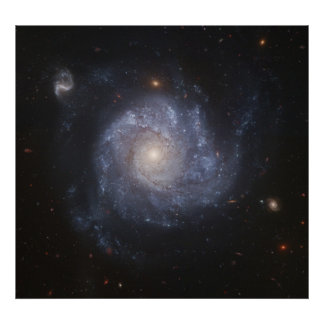 Space Poster Pinwheel Galaxy