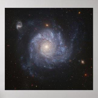 Space Poster Pinwheel Galaxy