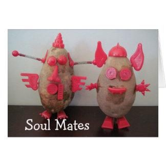 Space Potatoes - Soul Mates Card