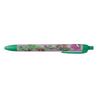 Space Princess Alien Floral Pen