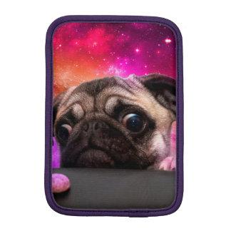 space pug - pug food - pug cookie iPad mini sleeve