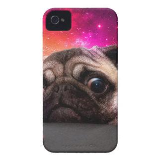 space pug - pug food - pug cookie iPhone 4 Case-Mate case