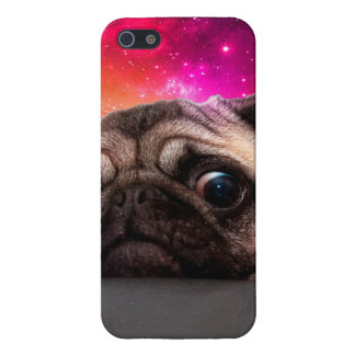 space pug - pug food - pug cookie iPhone 5/5S cover