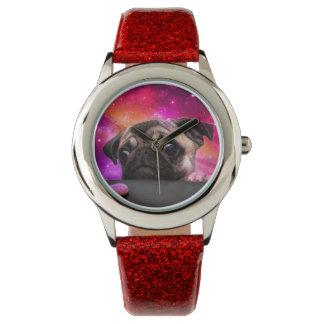 space pug - pug food - pug cookie watch