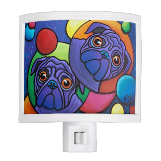 Space Pugs Night Light