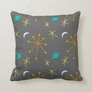 Space Race Throw Pillow