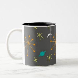 Space Race Two-Tone Coffee Mug