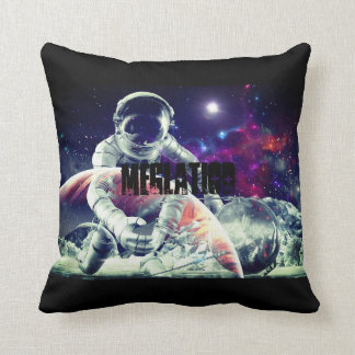 Space Recovery Throw Pillow