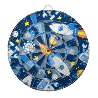 Space robot dartboard