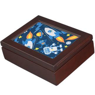 Space robot keepsake box