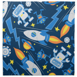 Space robot napkin