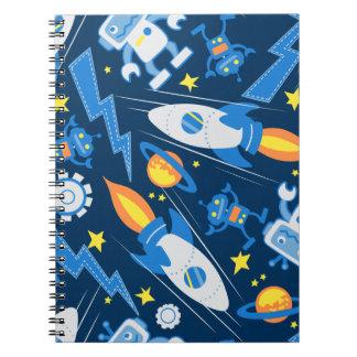 Space robot notebook