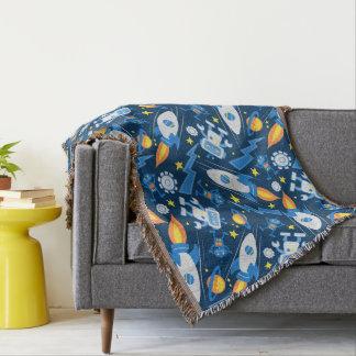 Space robot throw blanket