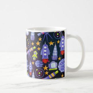 Space Rocket Coffee Mug