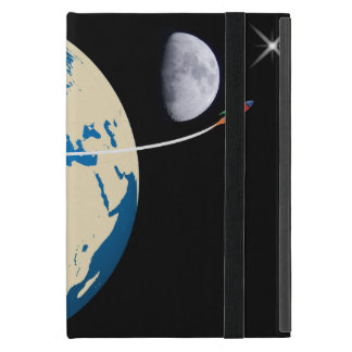 Space rocket cover for iPad mini