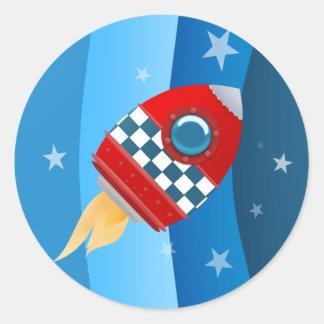 Space Rocket stickers