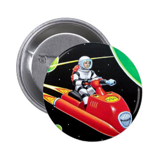 SPACE SCOOTER 2 INCH ROUND BUTTON