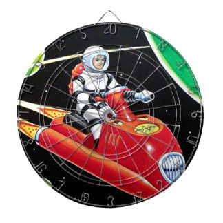 SPACE SCOOTER DARTBOARD