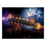 Space ship 2 print